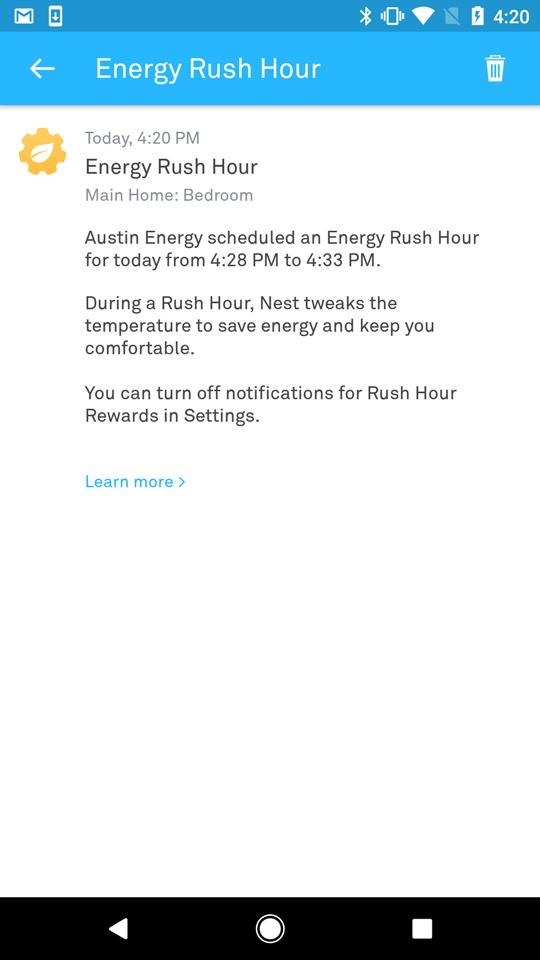 RHR Notification