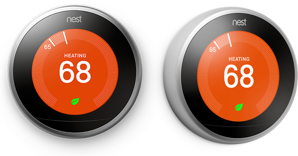 Nest Learning Thermostat UI