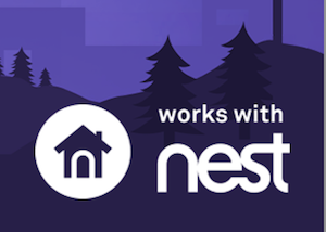Works with Nest badge example with transparent background